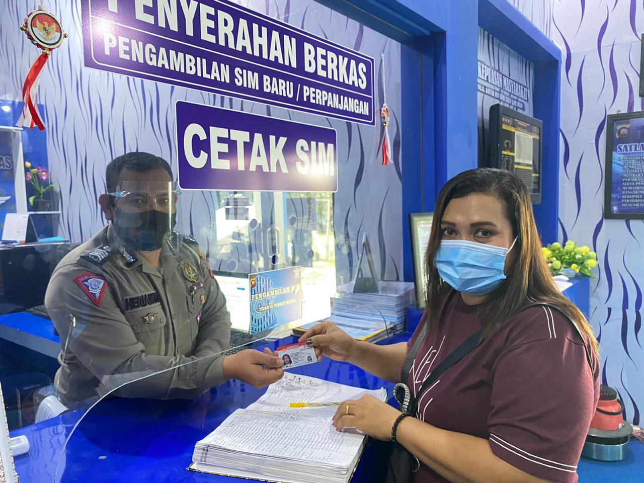 Apresiasi masyarkat terhadap pelayanan satpas SIM Satlantas Polres Ketapang