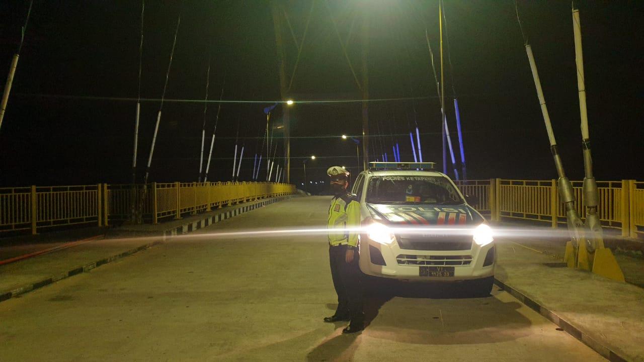 Patroli Malam Guna Cegah Gangguan Kamtibmas