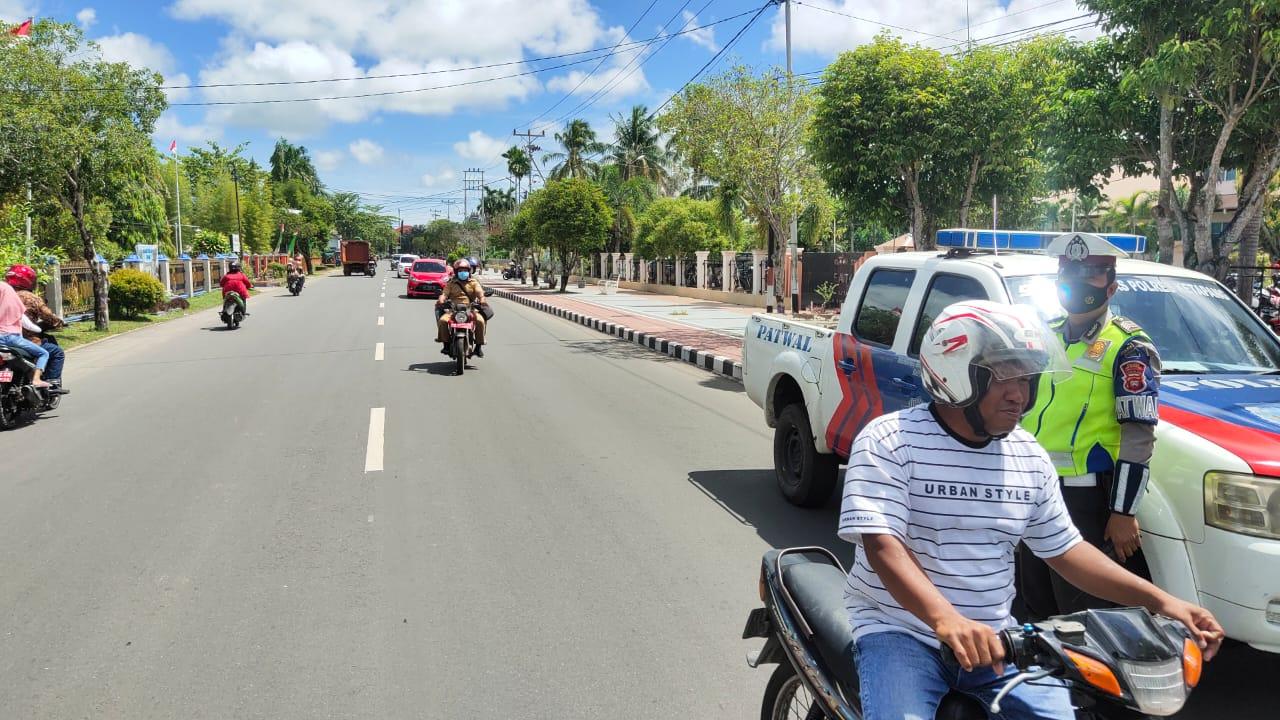 Gencarkan Patroli Sore Pastikan Keamanan Wilayah Kabupaten Ketapang