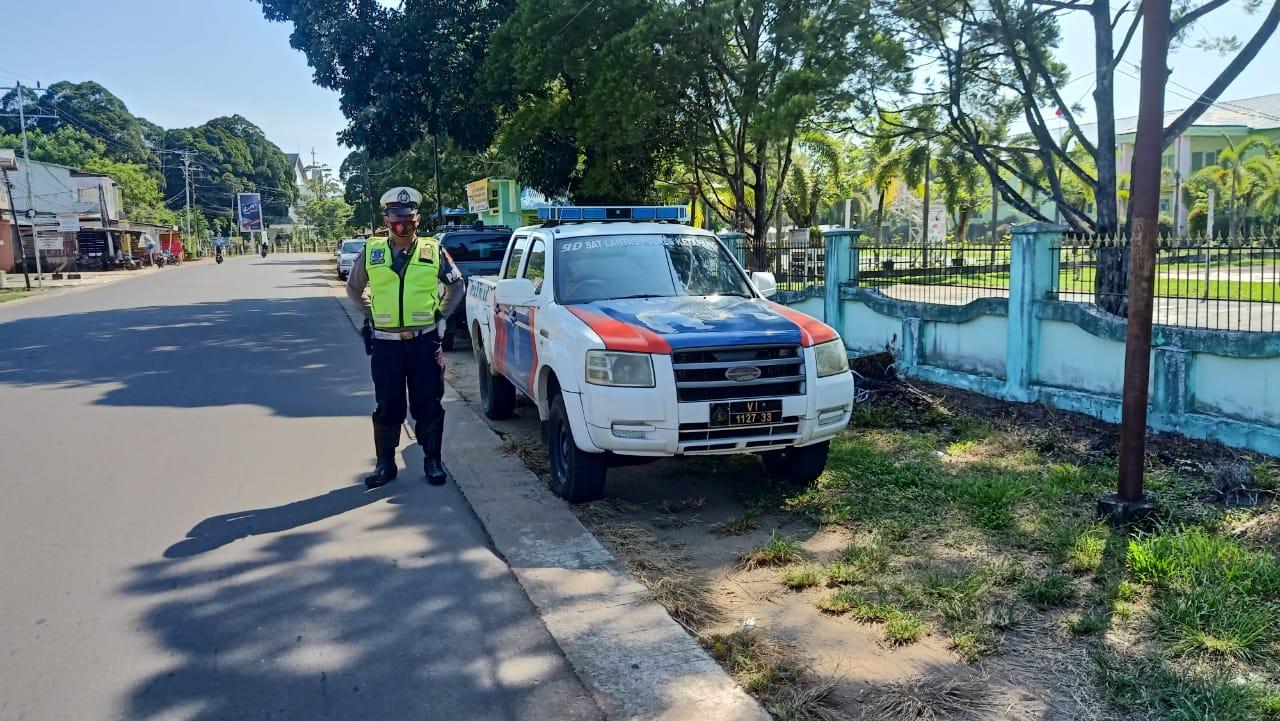 Patroli rutin di bulan penuh berkah guna antisipasi kriminalitas dan kecelakaan lalu lintas