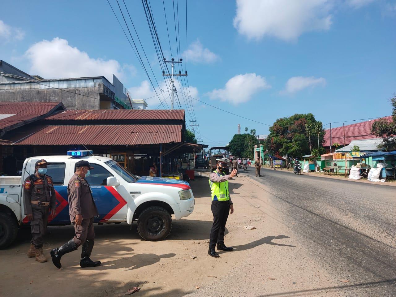 Patroli rutin antisipasi kriminalitas, kemacetan dan kecelakaan lalu lintas dikota ketapang