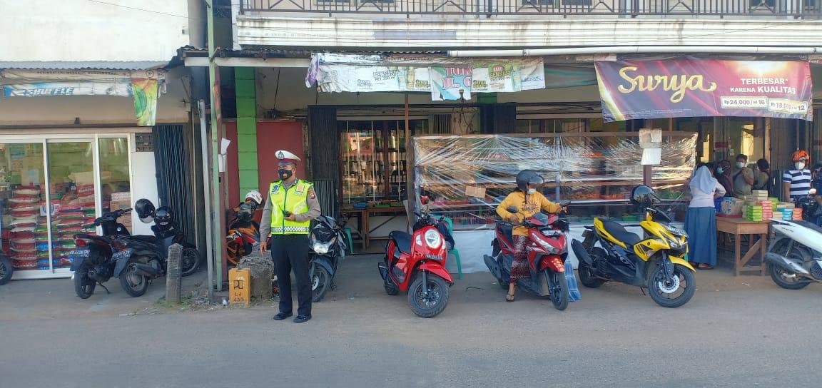 Pengamanan Pasar Juadah di Bulan Suci Ramadhan