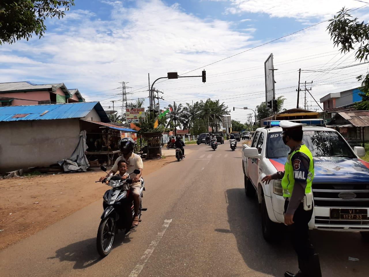LAKSANAKAN PLOTING POIN PAGI , WUJUD PELAYANAN POLISI UNTUK MASYARAKAT