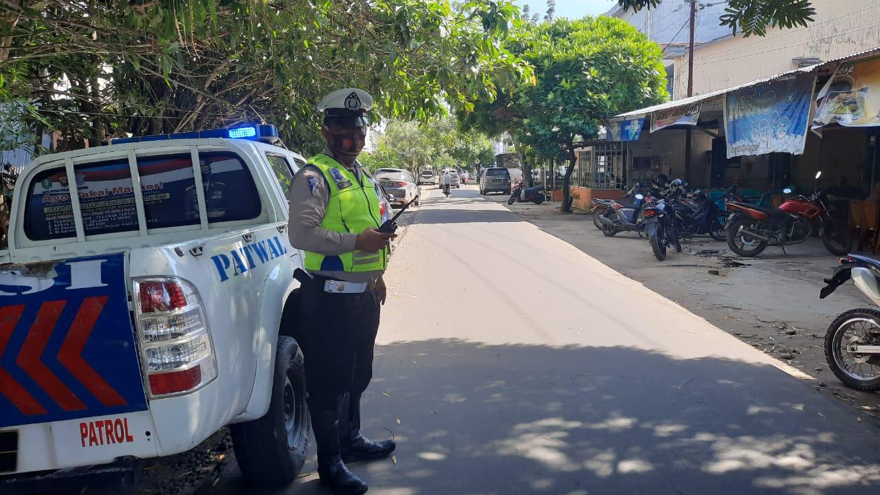 Rutin Patroli antisipasi kriminalitas, kemacetan dan kecelakaan lalu lintas