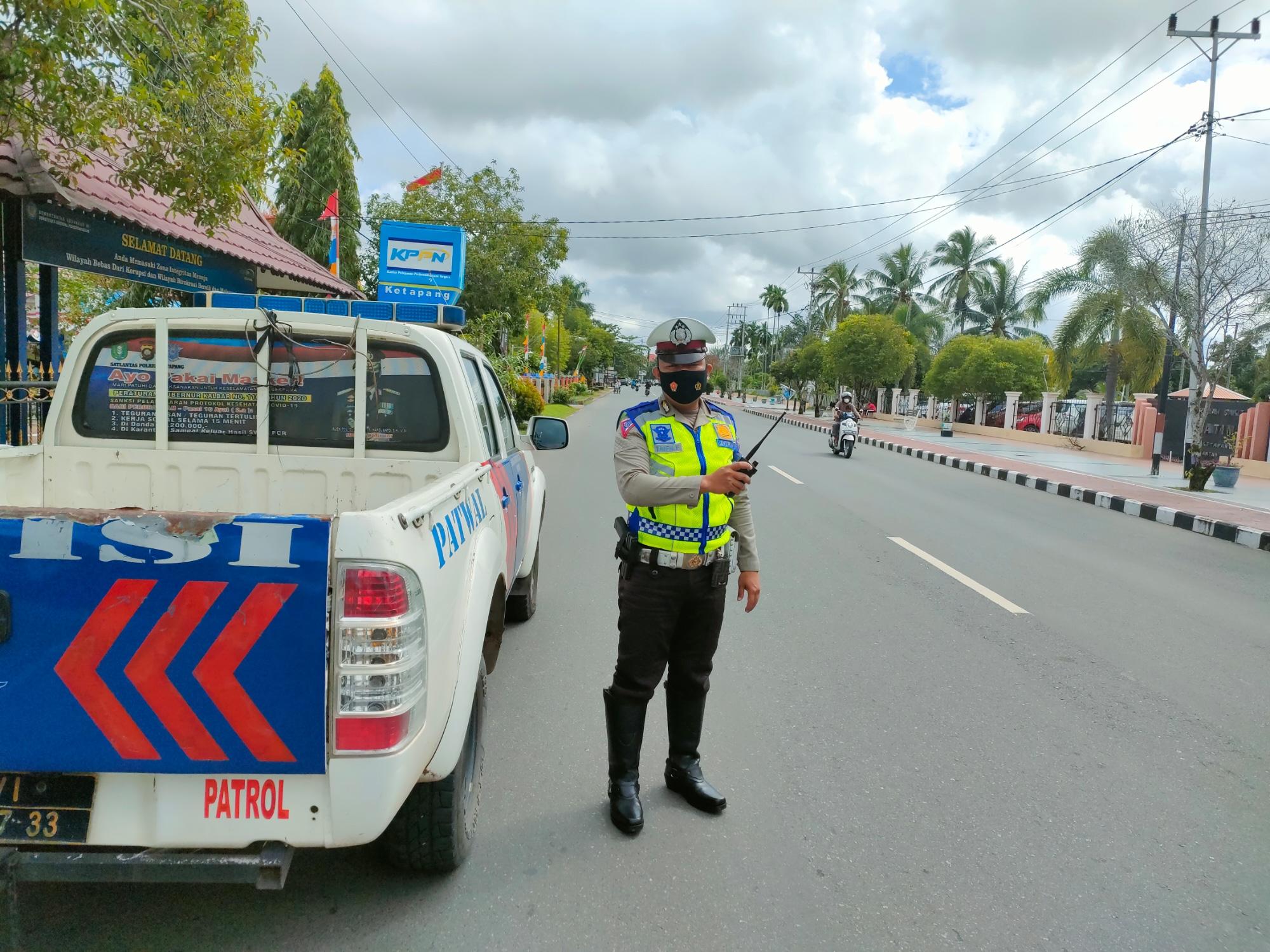 Rutin Patroli antisipasi kriminalita