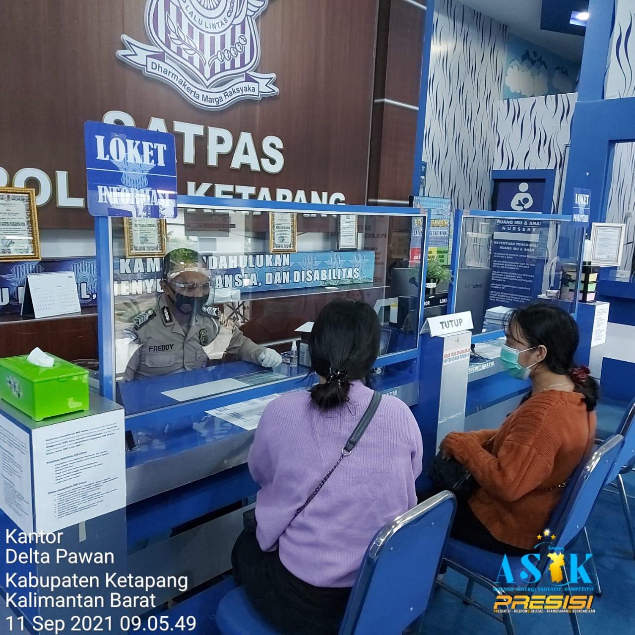 Pendaftaran SIM Online Melalui Website Resmi Satlantas Polres Ketapang