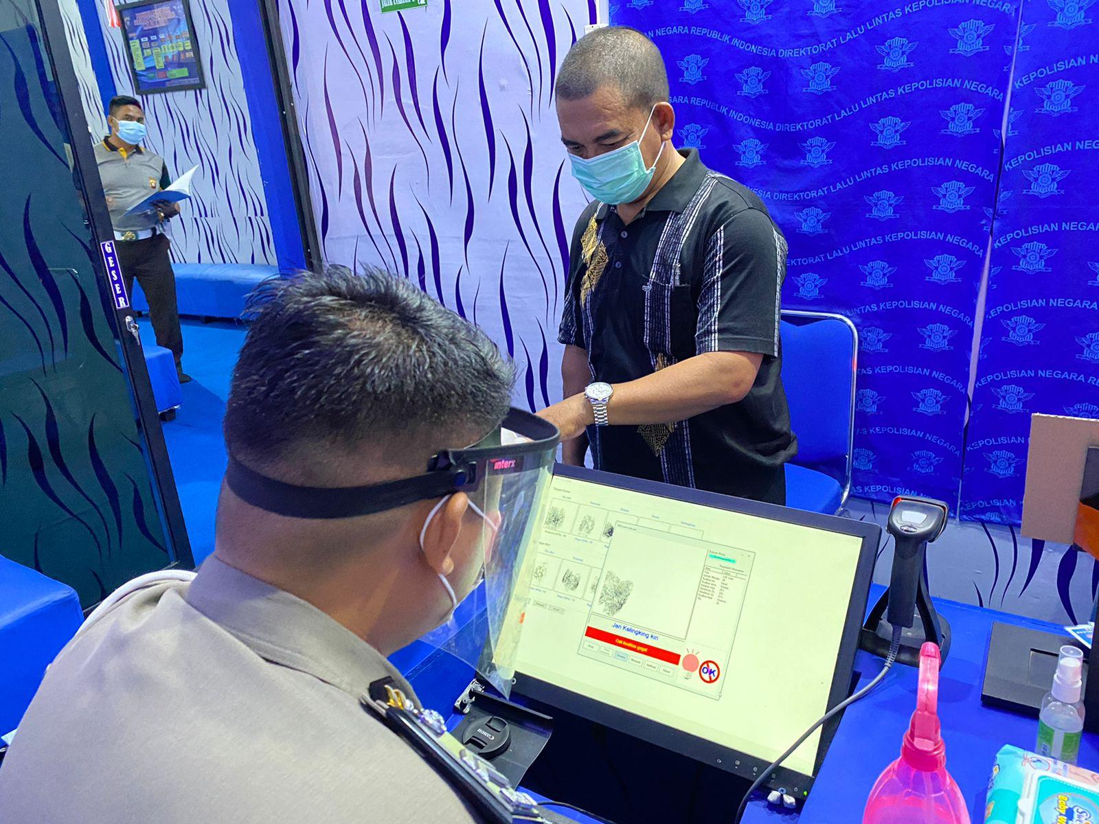 Proses Identifikasi SIM Guna Melengkapi Data Forensik Kepolisian