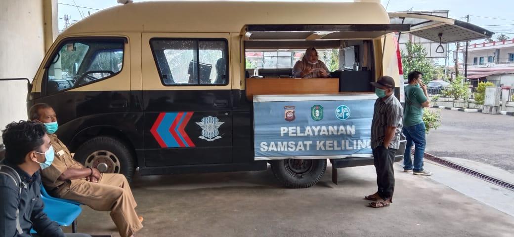 Pelayanan Samsat tetap Buka, Protokol Kesehatan diterapkan