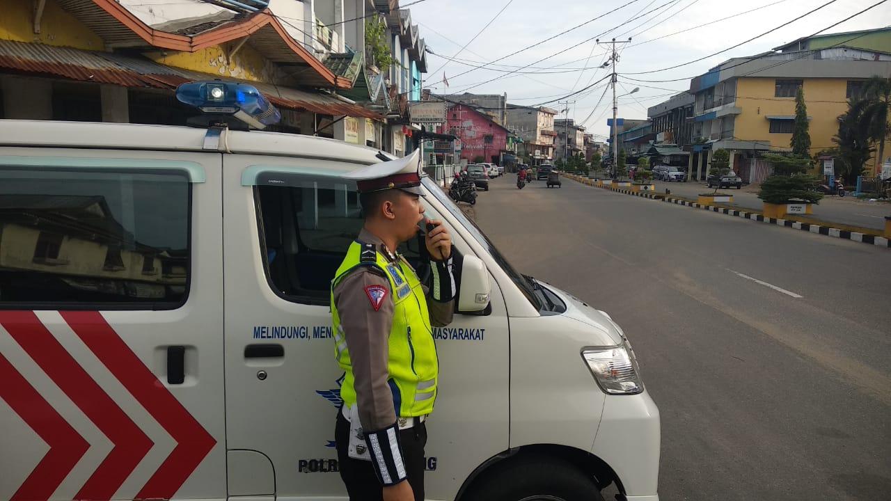 Satlantas Polres Ketapang Himbau Pengguna Jalan untuk Tertib Berlalu Lintas