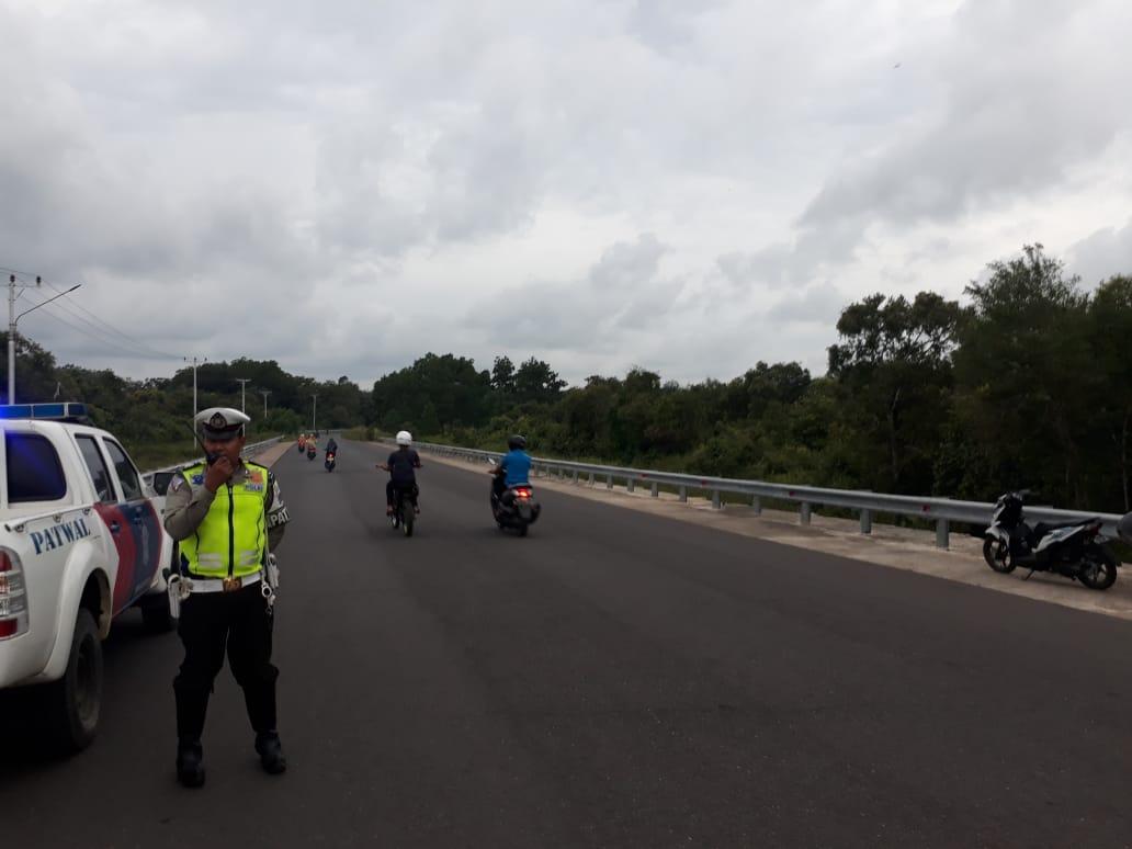 Patroli Sore Hari Sat Lantas Polres Ketapang Pastikan Keamanan Wilayah