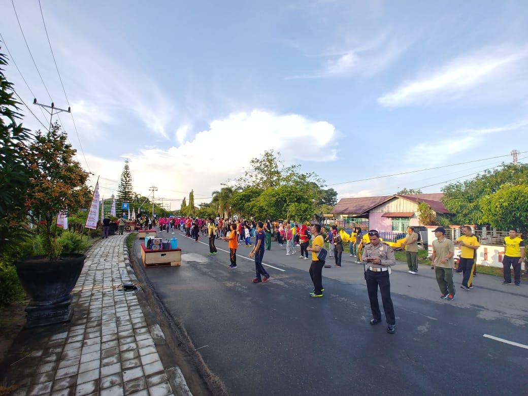 Car Free Day dan Millennial Road Safety Festival di Kota Ketapang