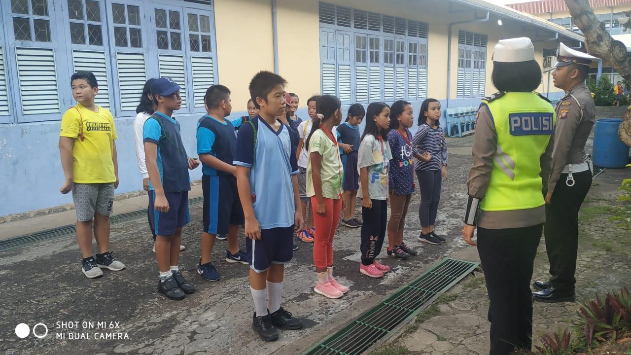 Latihan Rutin PKS, Polisi Tekankan Materi Pengaturan Lalu Lintas