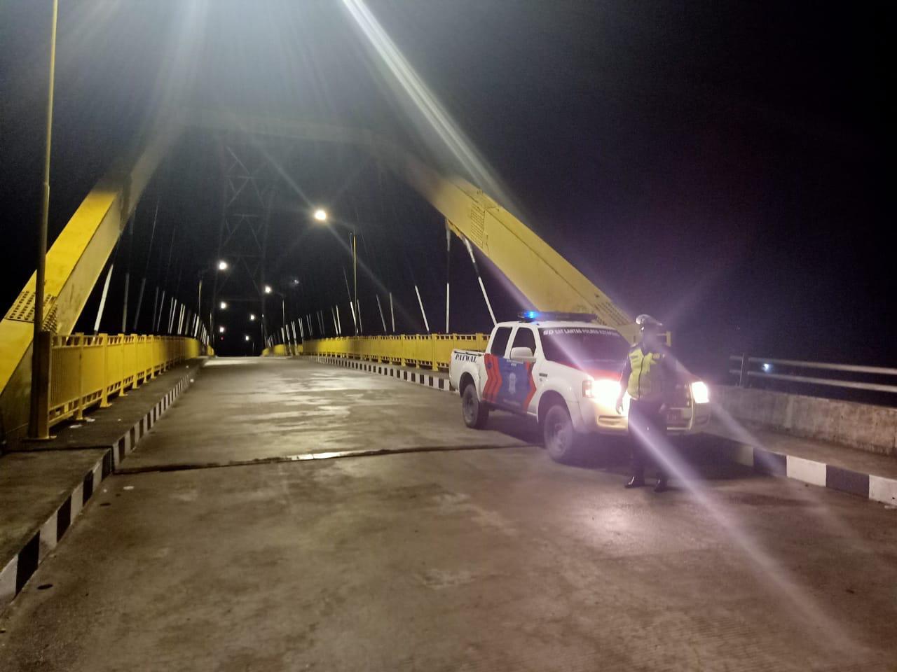 Satlantas Polres Ketapang Tingkatkan Patroli Di Malam Hari