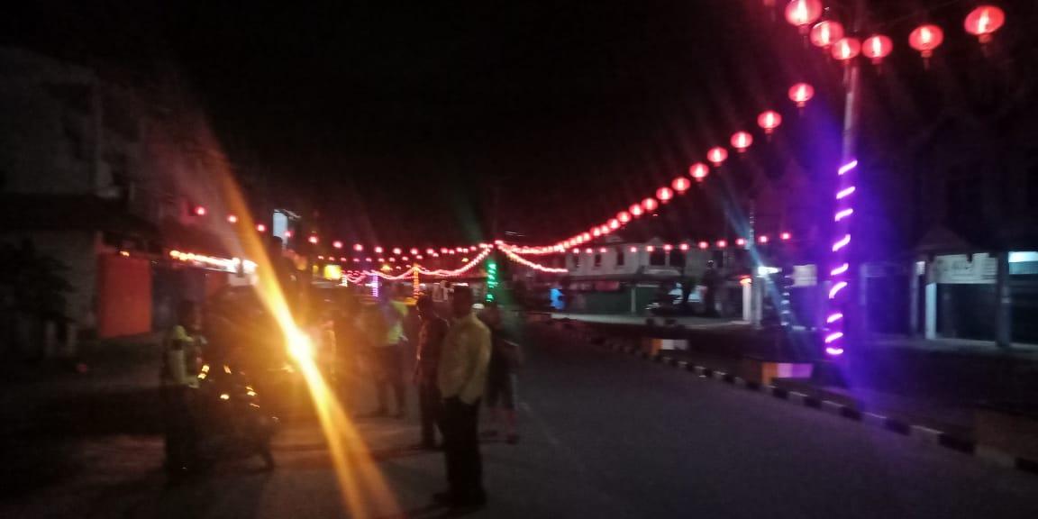 Malam Minggu Patroli Satlantas Ketapang Kembali Ciduk Para Pelaku Balap Liar
