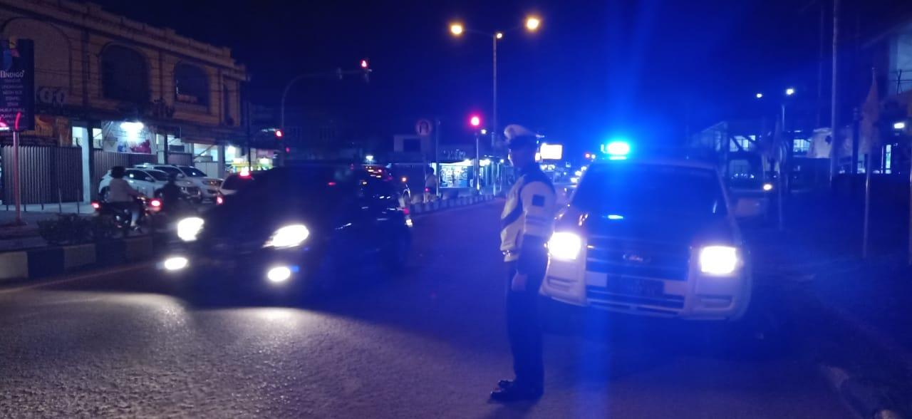 Antisipasi Tindak Kejahatan Jalanan, Sat Lantas Tingkatkan Patroli Malam Hari