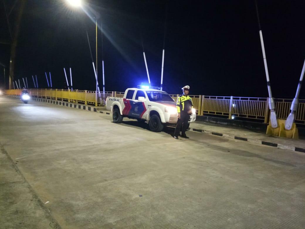 Tingkatkan Patroli Di Malam Hari,Ini Yang Dilakukan Sat Lantas Ketapang