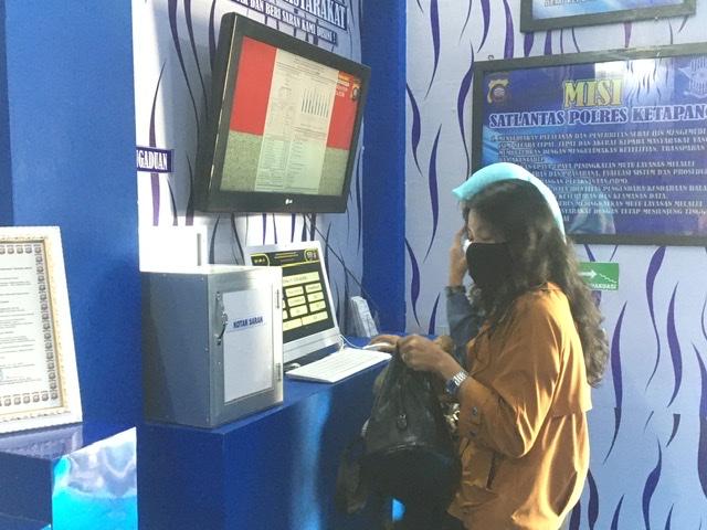 Begini Pelayanan Transparansi Satpas SIM Polres Ketapang