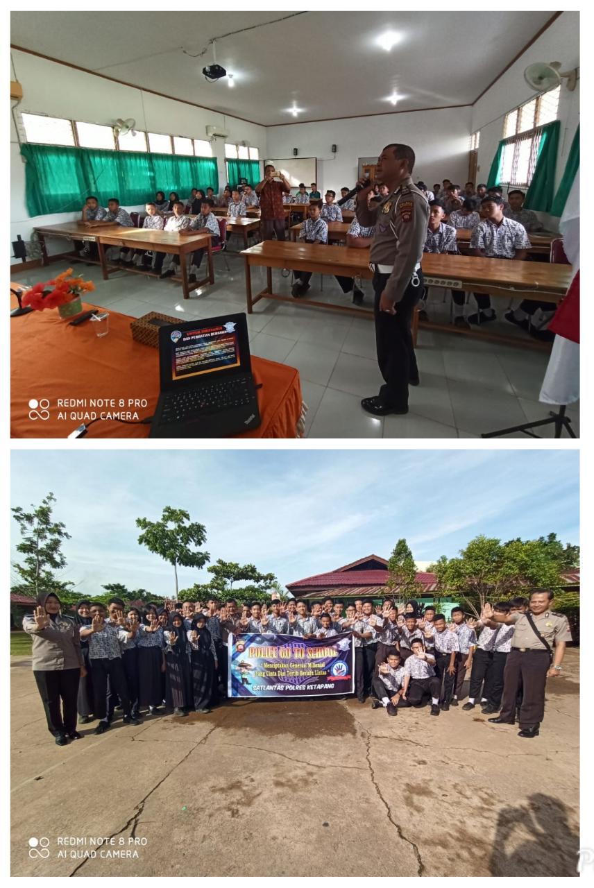Police Go To School SMP N 1 Ketapang