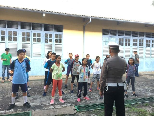 Satlantas Polres Ketapang Latih PKS, Pesan Ini Diselipkan