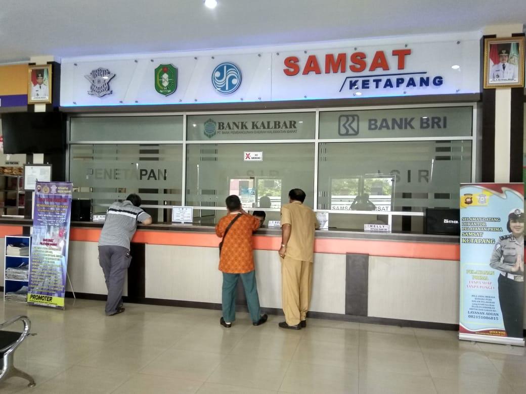 Satu Jam Saja Perpanjangan STNK di Samsat Kabupaten Ketapang