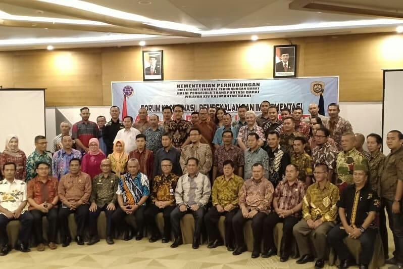 Penutupan rapat forum koordinasi, pembekalan dan implementasi andalalin