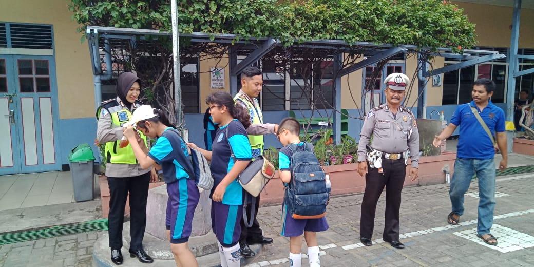 Setelah di latih, ini yang dilakukan anak-anak calon anggota PKS