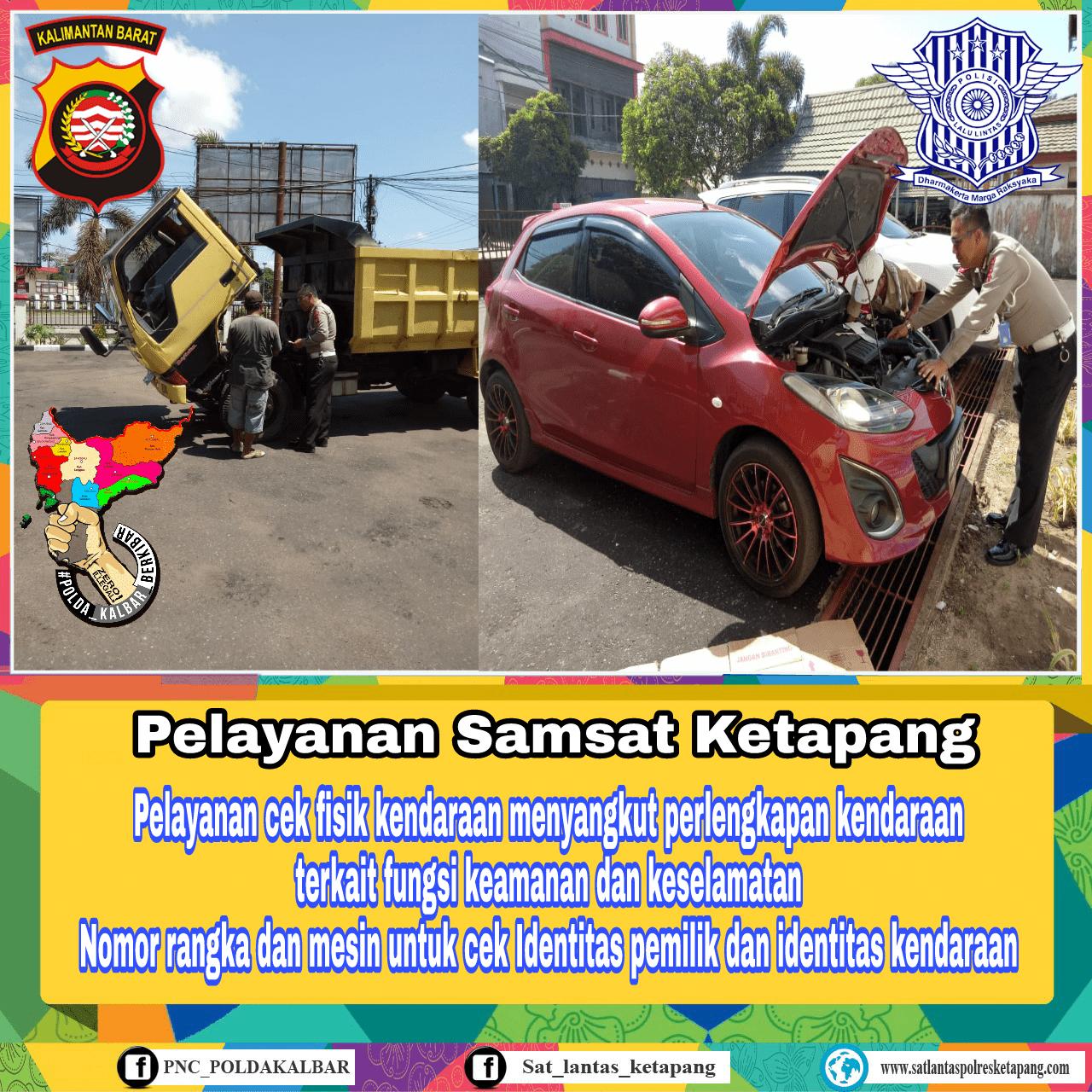 Lengkapi standar fungsi keselamatan kendaraan anda sebelum proses cek fisik di Samsat