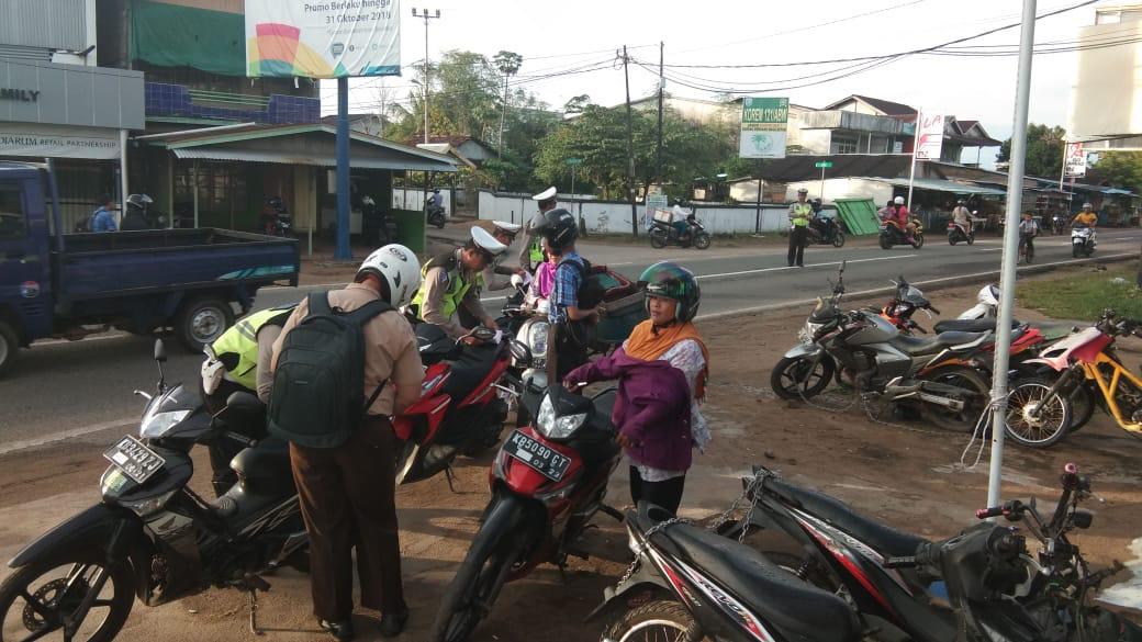 Pelaksanaan Ops Zebra Kapuas 2018 di Polres Ketapang