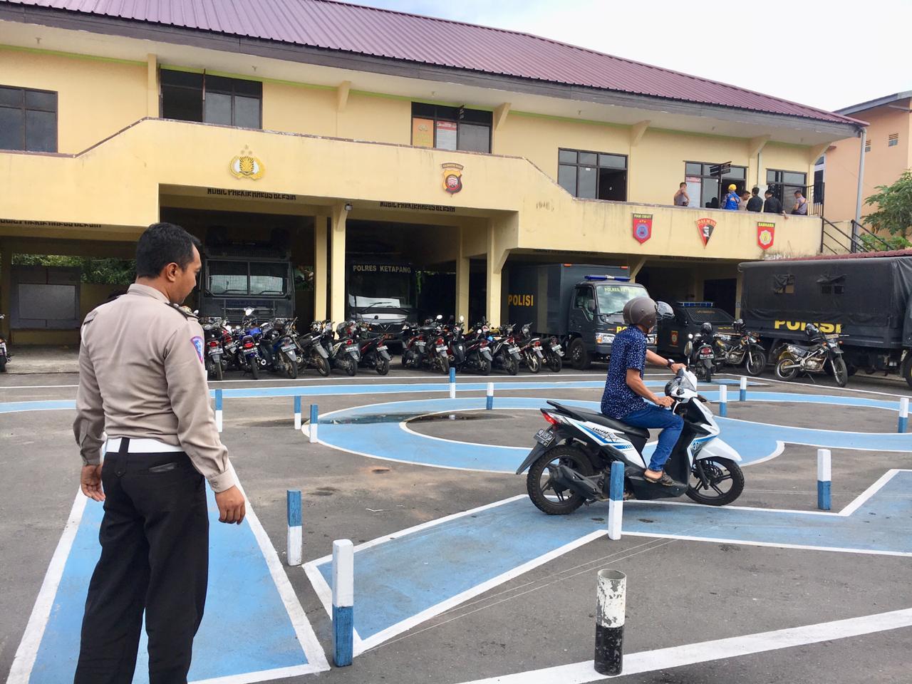 Teknik yang Dipakai pada Saat Ujian Praktek Kendaraan Roda 2