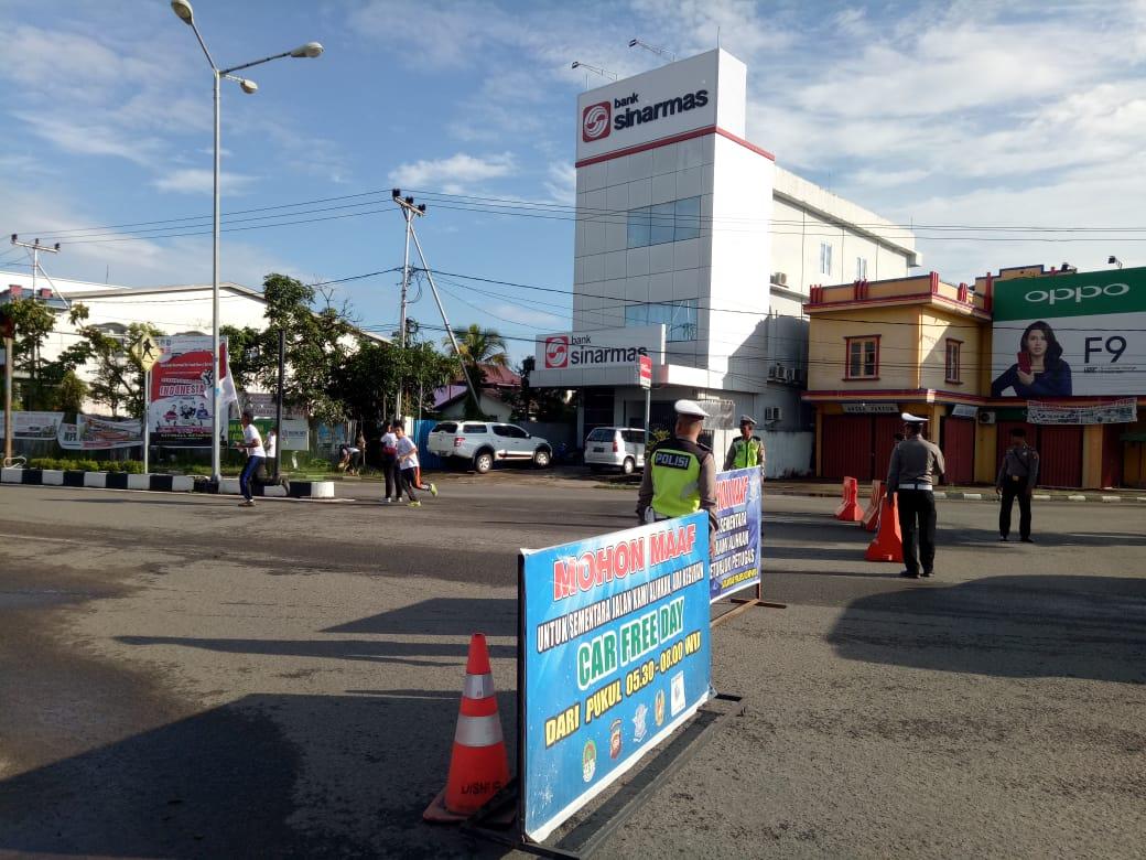 Pengalihan Arus Lalu Lintas di Jalan R. Suprapto
