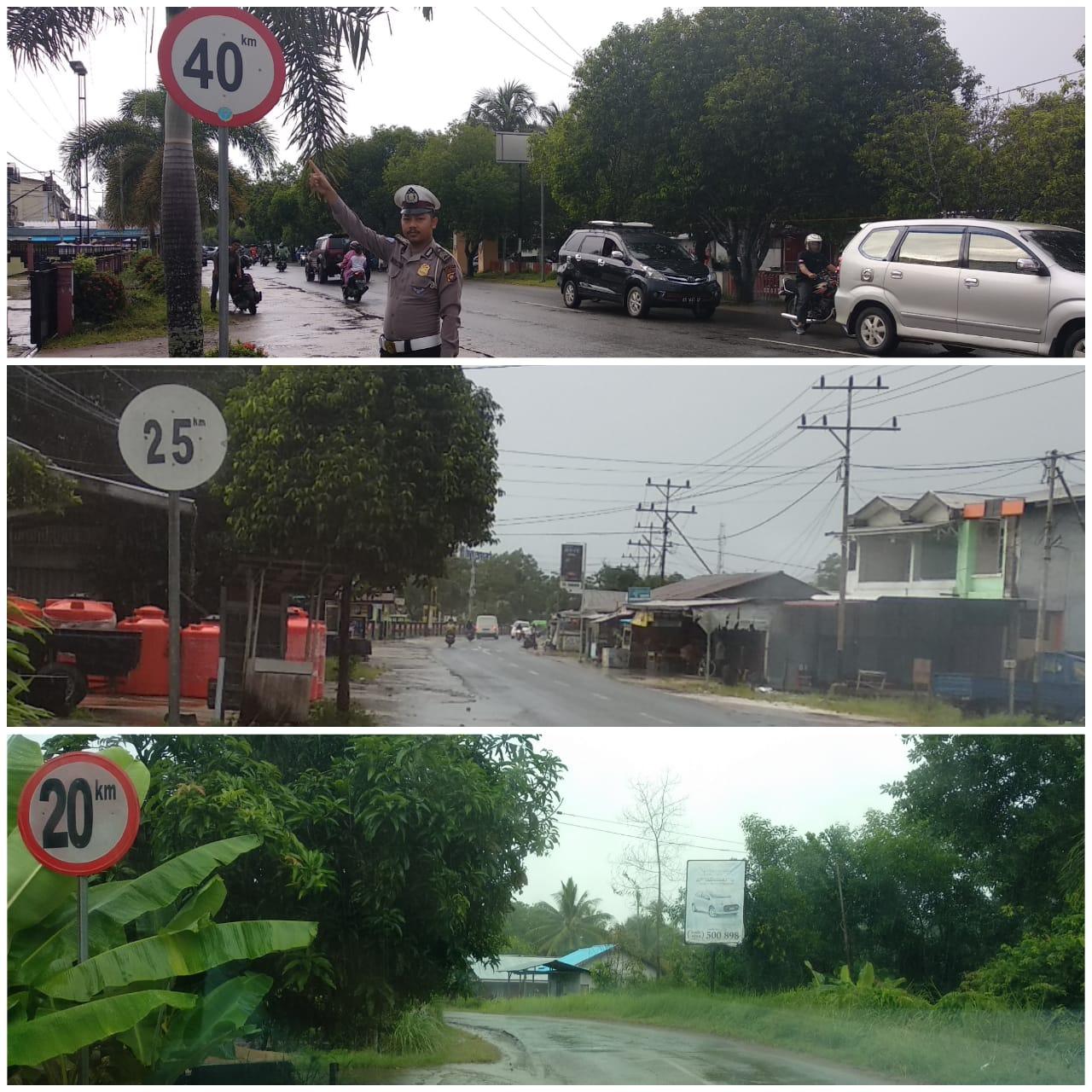 Pendataan Rambu Batas Kecepatan Maksimal yang ada di wilayah Kota Ketapang