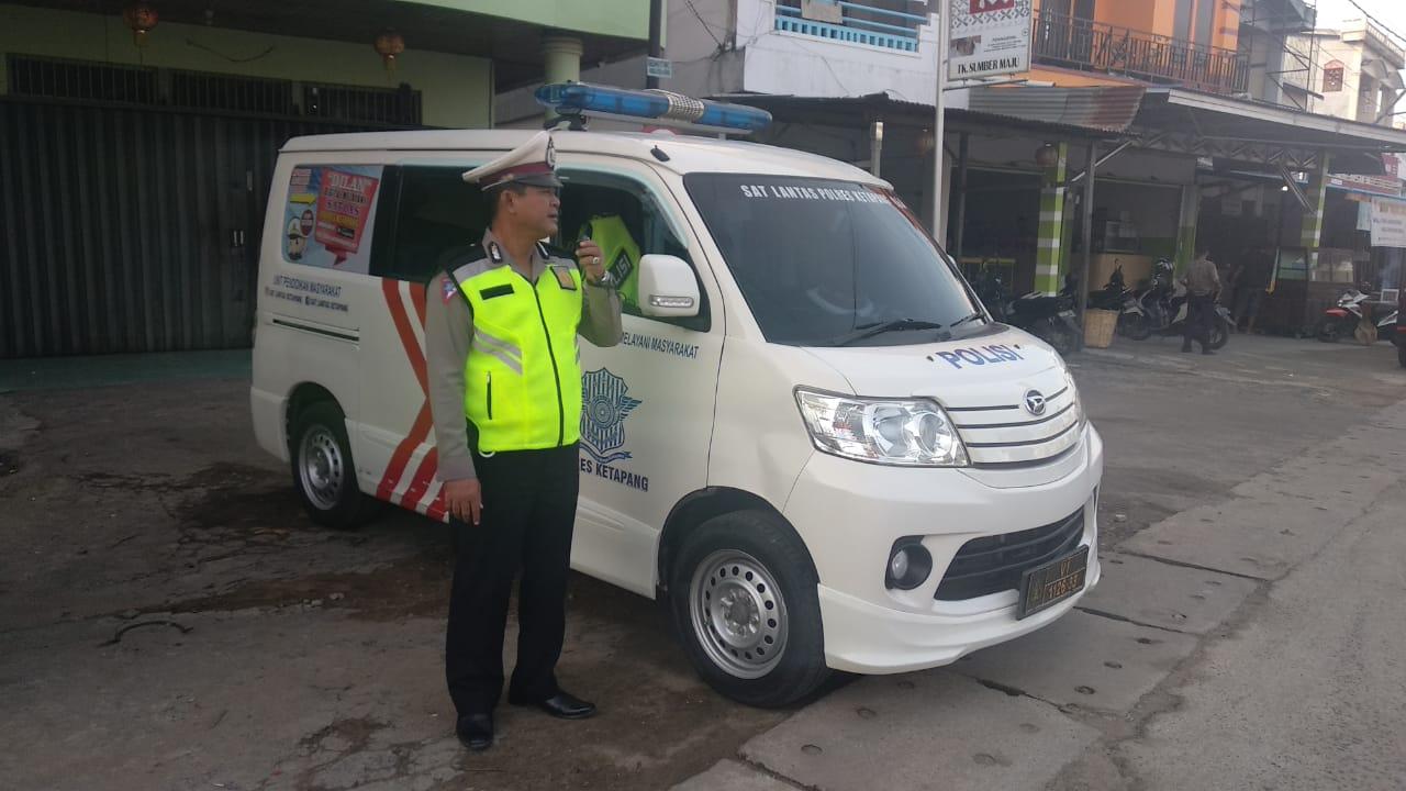 Unit Dikyasa Sat Lantas Polres Ketapang Melaksanakan Penling Tertib LaluLintas  Di KTL Kota Ketapang