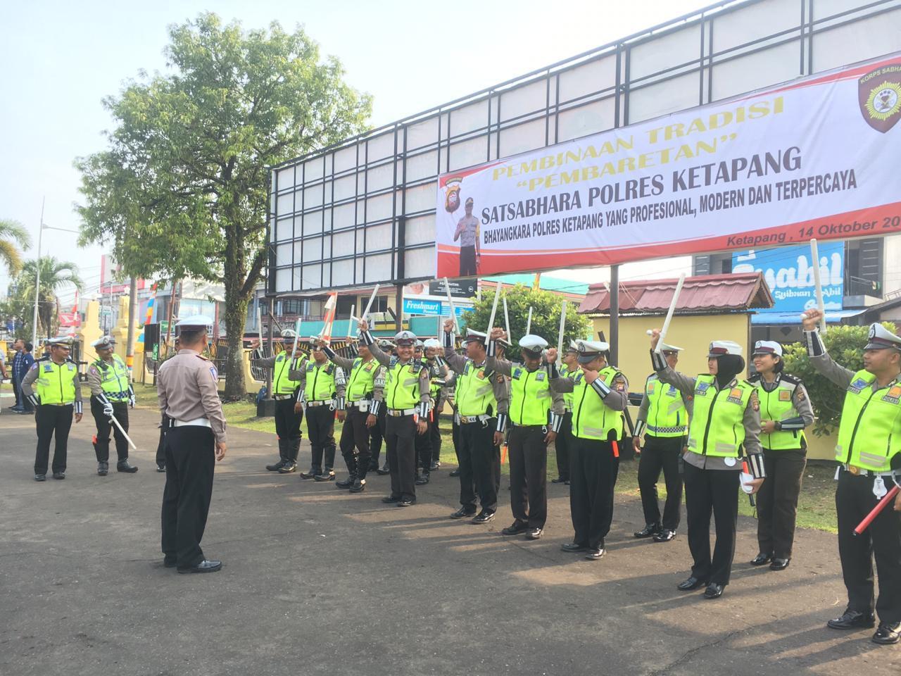 Pemeriksaan Gampol Dan Sikap Tampang Anggota Sat Lantas Polres Ketapang