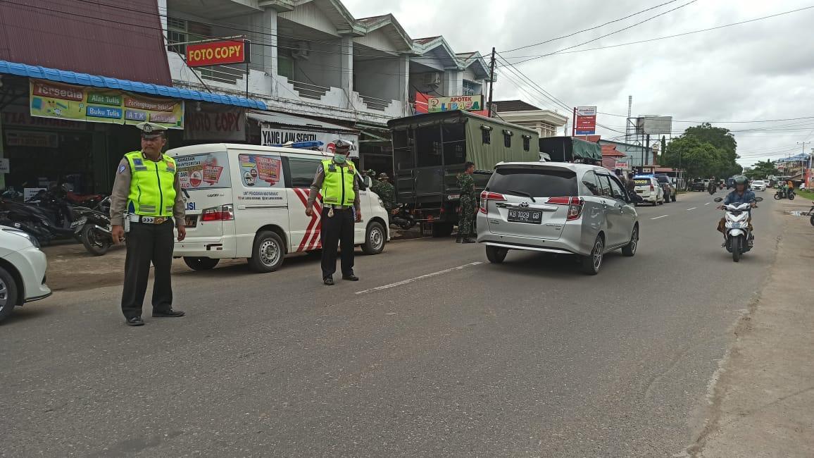 Satlantas Polres Ketapang laksanakan Public Addres Gunakan Mobil Penling