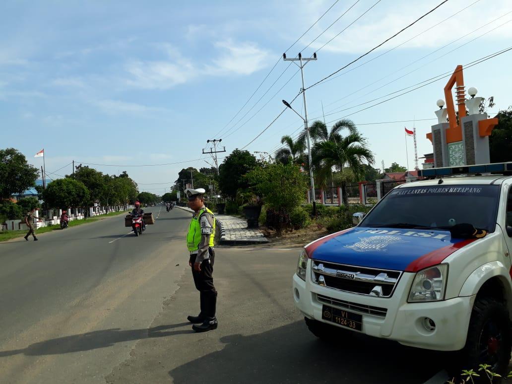 Kanit Patroli Pimpin Anggotanya Tingkatkan Giat Patroli Daerah Rawan Laka dan Langgar