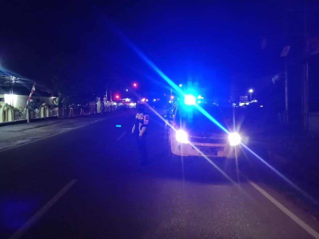 Polantas Setiap Malam Lakukan Patroli