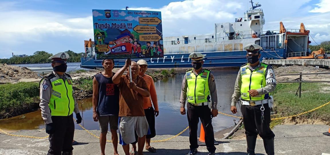 Gelar Operasi Keselamatan Kapuas, Polisi Ketapang Juga Sosialisasikan Tak Mudik