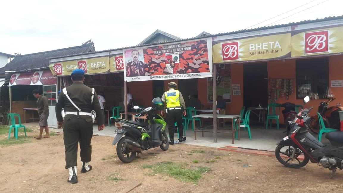 Patroli Humanis Satlantas Polres Ketapang Cegah Corona Covid-19