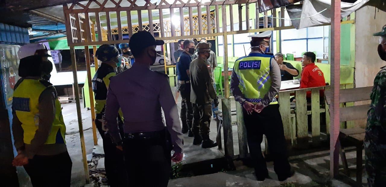 Satlantas Polres Ketapang Berikan Himbauan Maklumat Kapolri Dan Anjuran Pemerintah Kabupaten Ketapan