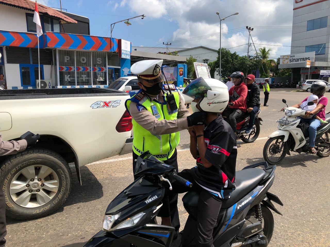 Ops Keselamatan Kapuas 2020 Polres Ketapang, Kasat Lantas Targetkan Peningkatan Kepatuhan Penggunaan
