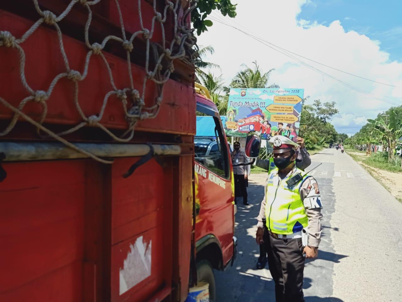 Imbau Warga Tidak Mudik, Operasi Ketupat 2020 di Ketapang Berbeda dari Biasanya