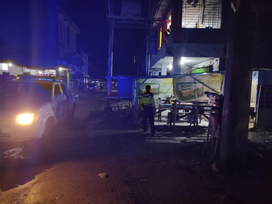 Himbau Warga Nongkrong, Patroli Sat. Lantas Antisipasi Penyebaran Virus Corona