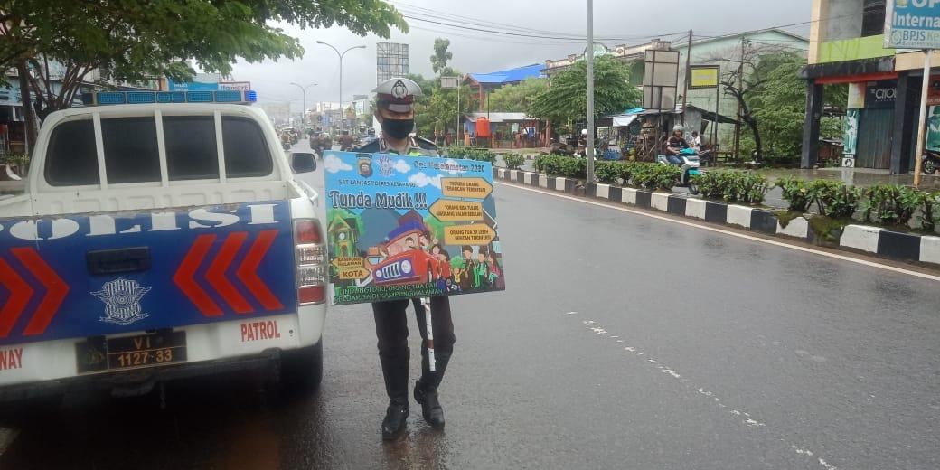Satlantas Polres Ketapang Imbau Warga Jangan Mudik