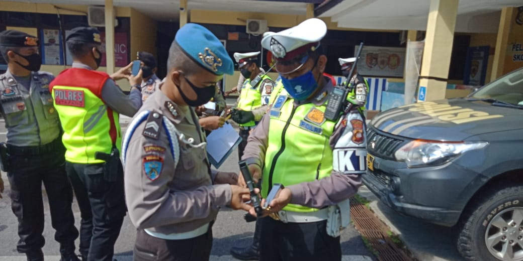 Antisipasi Penyalahgunaan Polres Ketapang Laksanakan Pemeriksaan Senjata Api Dinas