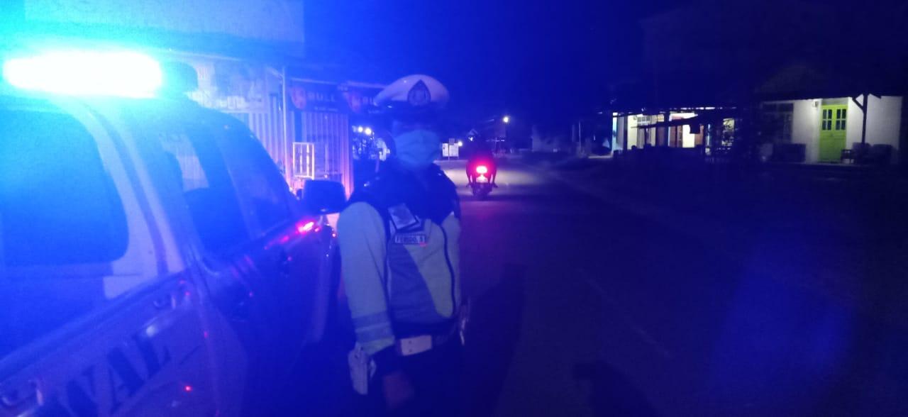 Tekan Penyebaran Covid-19, Polisi Gencar Patroli Malam