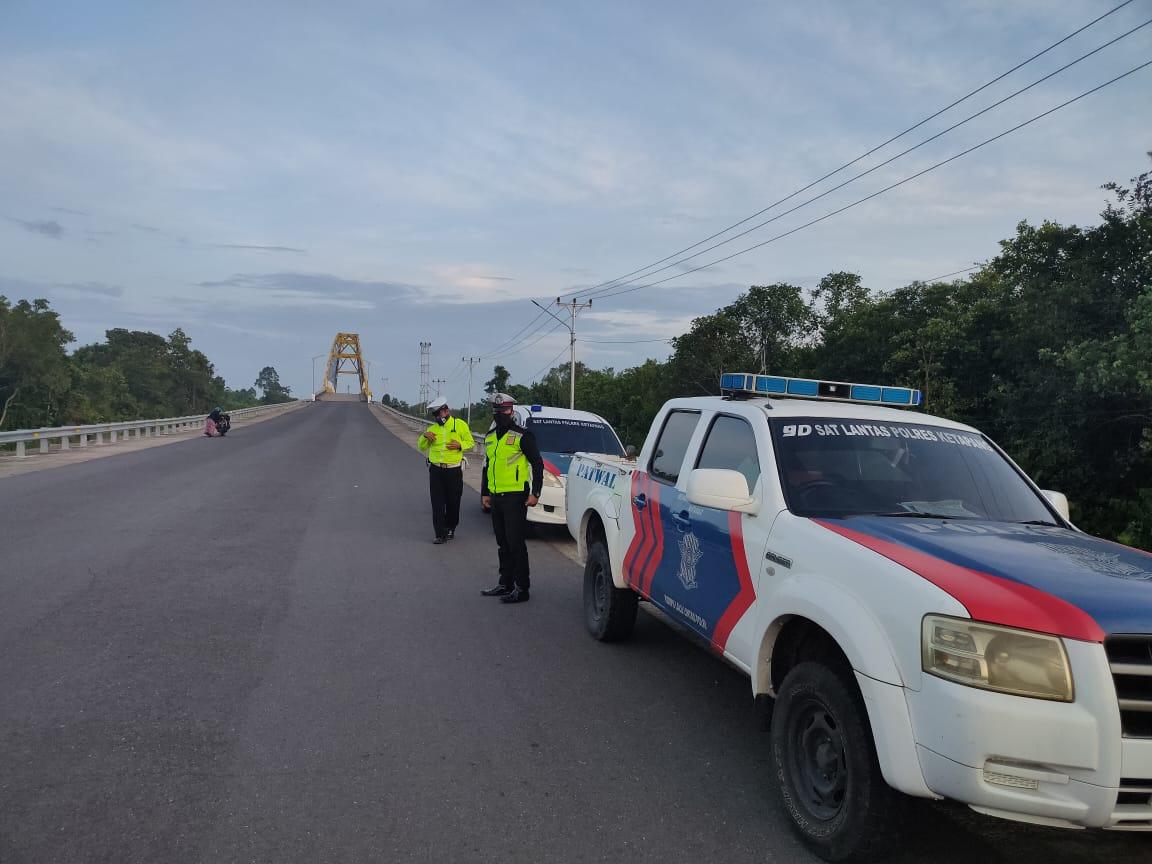 Patroli Pagi Turunkan Pelanggaran dan Laka Lantas