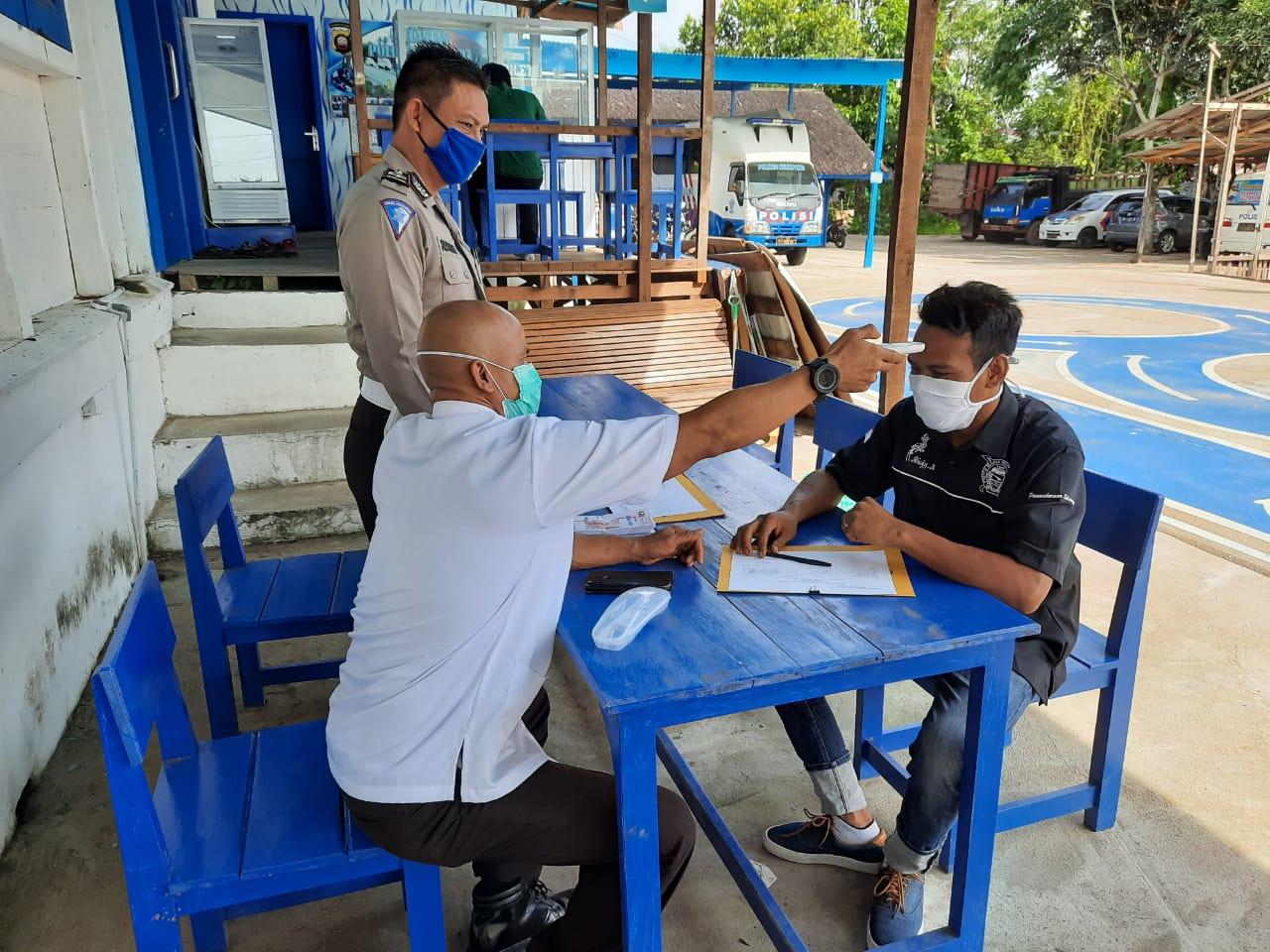 Sosialisasi dan Himbauan Cegah Virus Corona Digelar Satlantas Polres Ketapang