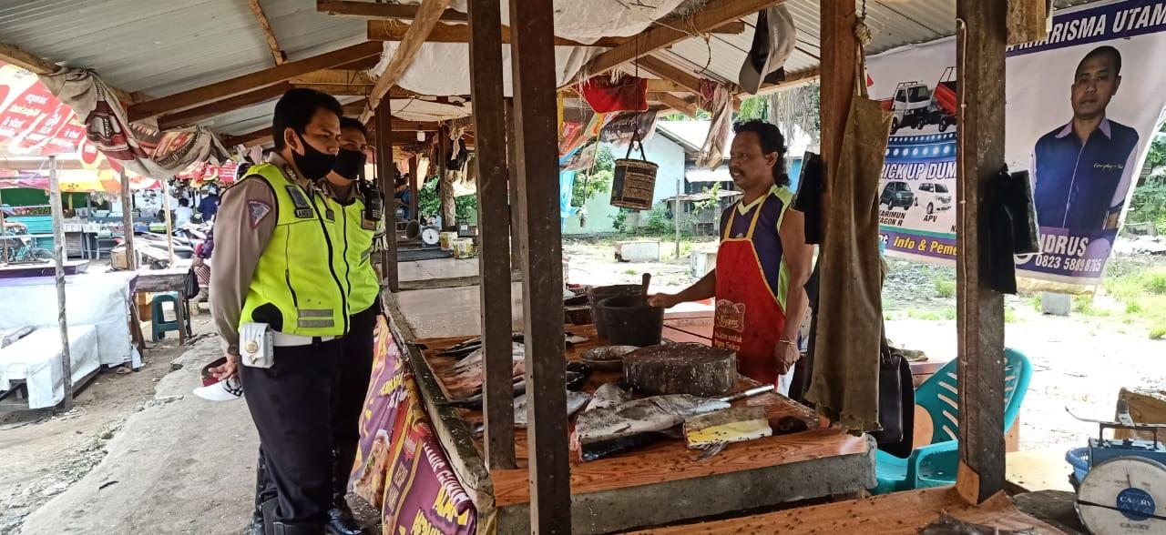 Satlantas Polres Ketapang Berpatroli Imbau Masyarakat Waspasdai Corona