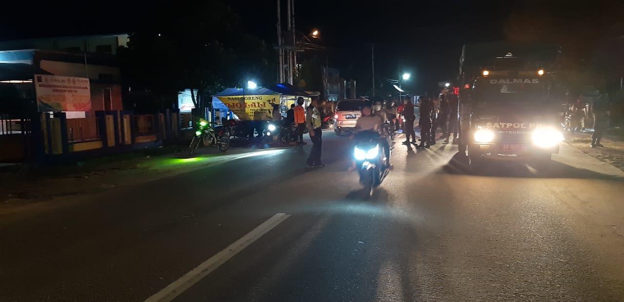 Polisi Intensifkan Patroli Malam Sembari Imbau Antisipasi Covid-19