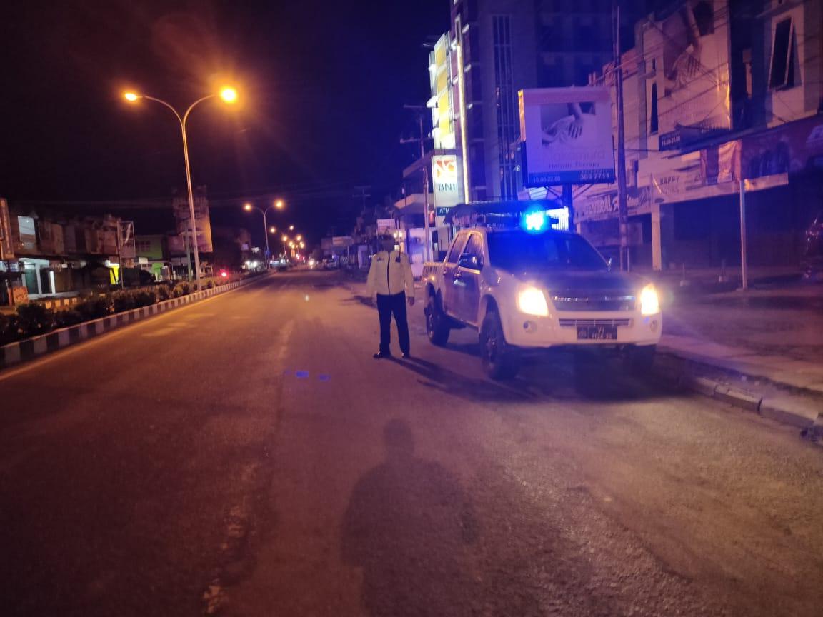 Cegah Aksi Balapan Liar Saat Bulan Ramadhan, Satlantas Polres Ketapang Rutin Patroli di Waktu Subuh